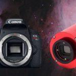 Astrofotografia: fotocamera, webcam o CCD?