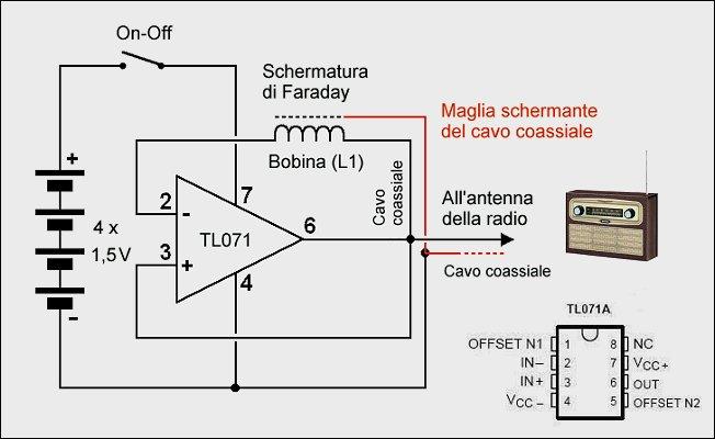 Schema Elettrico Per Metal Detector : Come creare un semplice metal detector esperimentanda