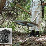 Cercare meteoriti con il metal detector