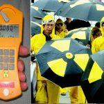 Come misurare la radioattività della pioggia